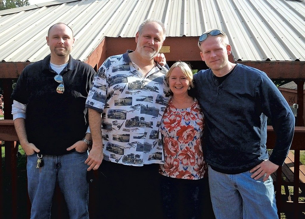 Dennis, Jerry, Penny and Sean Thibault